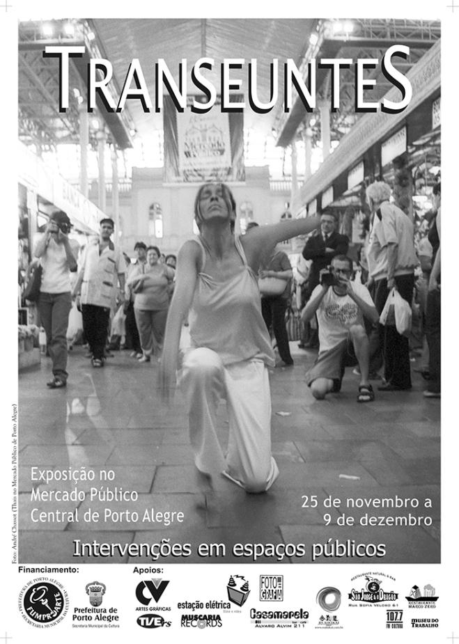 Cartaz Transeuntes Mercado Publico