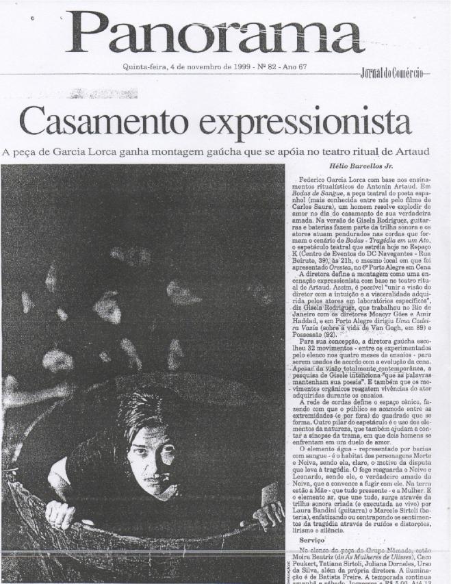 clipping Bodas _ Jornal do Comercio-1999